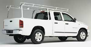 Hauler Aluminum Truck Racks, ladder racks, truck ladder rakcs, lumber racks, construction racks, econo racks