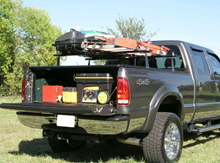 Tonneau Rack Industrial Application