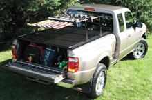 STR Tonneau Rack with Ski Carrier