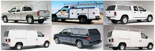 Truck racks and van racks from Hauler Racks, Inc.
